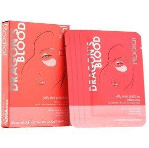 Rodial Hydrogelová maska na oční okolí Dragon's Blood Jelly Eye Patches 4x2ks