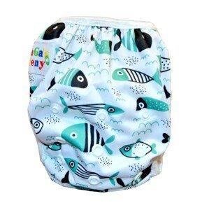 GaGa's pleny Plavky pro kojence i batolata rostoucí, Fish