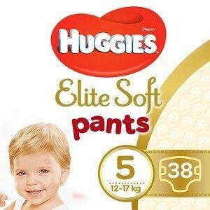 Huggies® Elite Soft Pants 5 Plenkové kalhotky 12-17kg 38ks