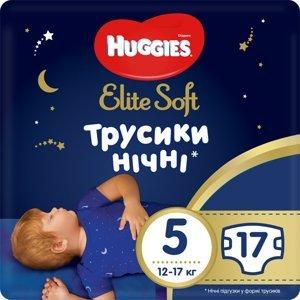 Huggies Elite Soft Pants OVN 5 Plenkové kalhotky12-17kg 17ks