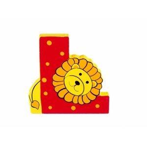 Orange Tree Toys Dřevěné Písmeno - L
