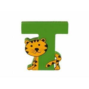 Orange Tree Toys Dřevěné Písmeno - T