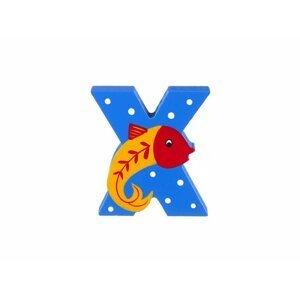 Orange Tree Toys Dřevěné Písmeno - X