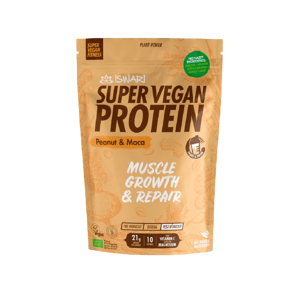 Iswari Bio Super Vegan Protein Arašídy - Maca 350g