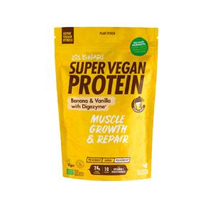 Iswari Bio Super Vegan Protein Banán - Vanilka 350g