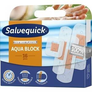 Salvequick Aqua Block Náplast urychlující hojení, voděodolná 16ks