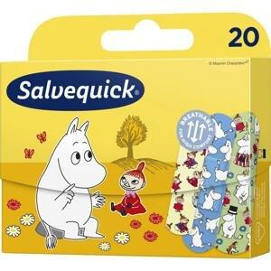Salvequick Náplasti pro děti Moominki, 20ks