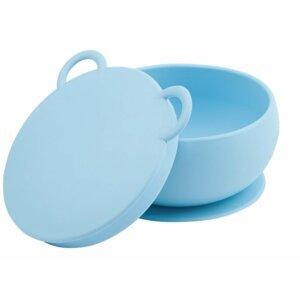 Minikoioi Miska silikonová s přísavkou - Blue