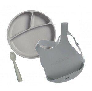 Minikoioi Set na stolování - Grey