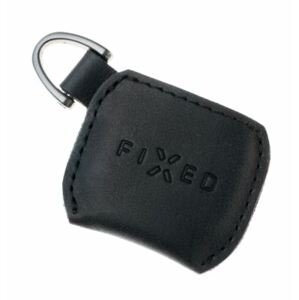 FIXED Kožené pouzdro Smile Case se smart trackerem FIXED Smile Pro černé
