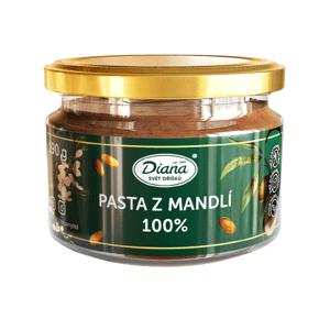 Diana Company Pasta z mandlí 100% 190g