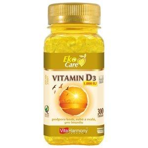 VitaHarmony, s.r.o.  VitaHarmony VE Vitamin D3 1.000 m.j. (25 µg) - 300ks