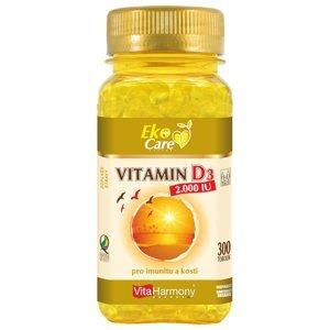 VitaHarmony, s.r.o.  VitaHarmony VE Vitamin D3 2.000 m.j. (50 µg) - 300ks
