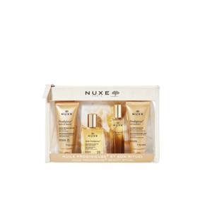 Nuxe cestovní taška s miniaturami Prodigieux 4ks