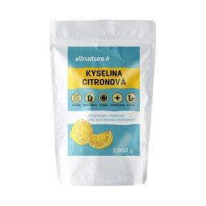Allnature Kyselina citronová 1000g