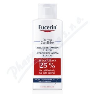 EUCERIN DermoCapillaire šampon zklidňující 5%UREA 2x250ml