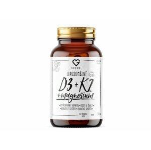 GOODIE s.r.o.  Goodie Liposomální Vitamin D3 + K2 + Magnesium 30ks
