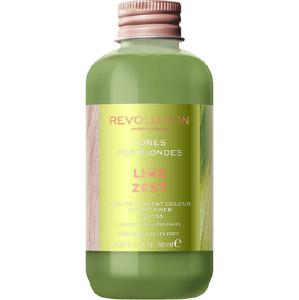 Revolution Haircare Tones for Blondes Barva na vlasy Lime Zest 150ml