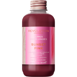 Revolution Haircare Tones for Blondes Barva na vlasy Sunset Pink 150ml