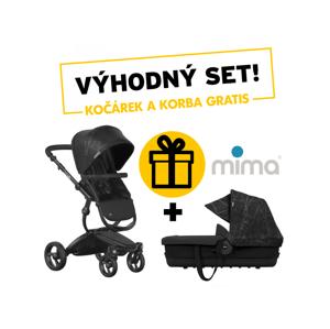 Mima Xari Sport kočárek + korbička Ebony
