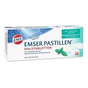 Emser Pastillen  Emsské pastilky bez cukru s mátovou příchutí 30ks