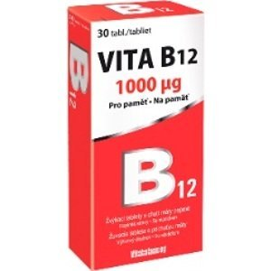 Vitabalans oy  Vita B12 1000mcg 30 tablet