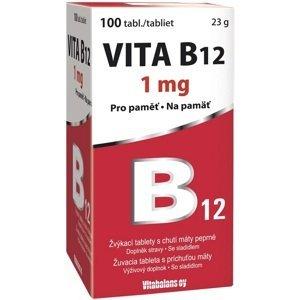 Vitabalans oy  Vita B12 1mg 100 tablet