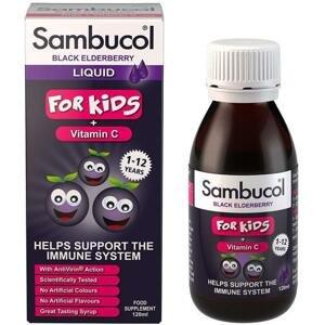 Sambucol Pro Děti + vitamin C Sirup 120ml