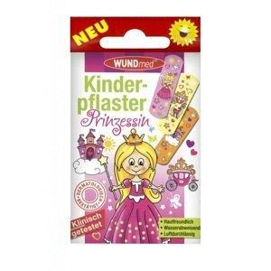 Náplast WUNDmed dětská GIRLS-Princez.10k