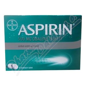 Aspirin 500mg obalené tablety 8 ks