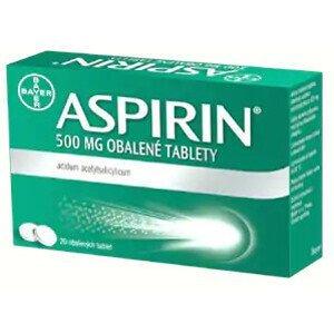 Aspirin 500mg 20 obalených tablet