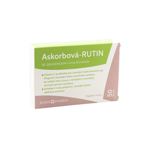 Rosen Askorbová RUTIN 50 tablet