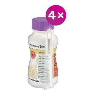 B.Braun Nutricomp Drink Plus Fibre Broskev-meruňka perorální roztok 4x200ml