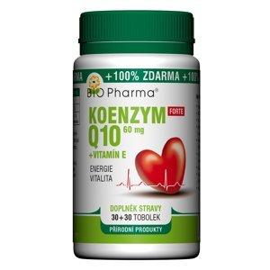 BIO Pharma Koenzym Q10 Forte 60mg+Vitamin E 30+30 tobolek