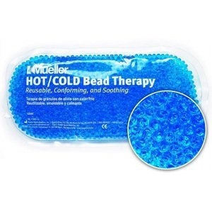 Mueller  Chladivý/hřejivý polštářek gelové kuličky modrý 1ks