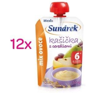 Sunárek kašička mix ovoce 12x120g