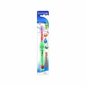 Elgydium Kids Monster zubní kartáček 2-6let 1ks