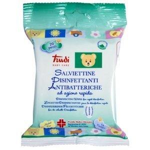 Trudi  Čisticí vlhčené ubrousky desinfekční (antibakteriální) 20 ks