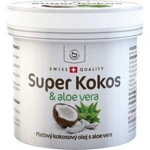 Herbamedicus Super Kokos a aloe vera pleťový olej 150ml