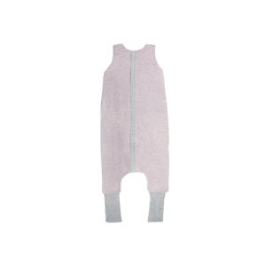 Sleepee Oboustranný spací pytel s nohavicemi Melange Pink S
