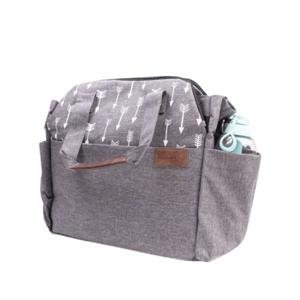 Kinder Hop Přebalovací taška na kočárek 2v1 Traveler Bag Space Grey