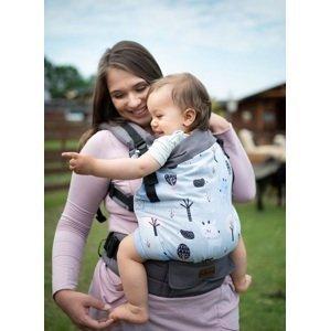 Kinder Hop Rostoucí ergonomické nosítko Multi Grow Roe-Deers, 100% bavlna