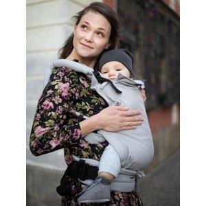 Kinder Hop Rostoucí ergonomické nosítko Multi Soft Little Herringbone Ecru, 100% bavlna, žakár