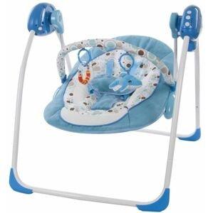 Sun baby Dětská houpačka s hudebním centrem swing Blue