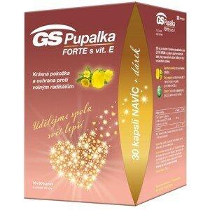 GS Pupalka Forte s vitamínem E 70+30 kapslí
