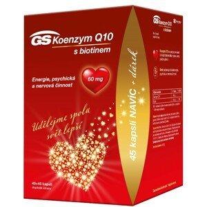 GS Koenzym Q10 60mg 45+45 kapslí