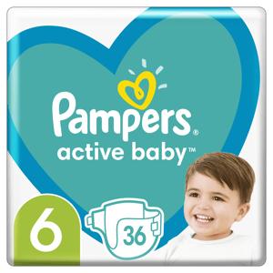 Pampers Active Baby Plenky velikost 6 36ks