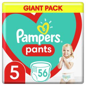 Pampers Plenkové Kalhotky Pants velikost 5 56ks