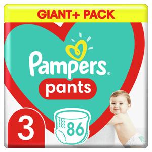 Pampers Plenkové Kalhotky Pants velikost 3 86ks