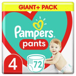 Pampers Plenkové kalhotky Pants velikost 4 72ks